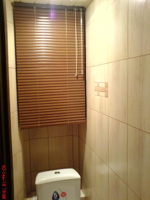 Как закрыть нишу в туалете